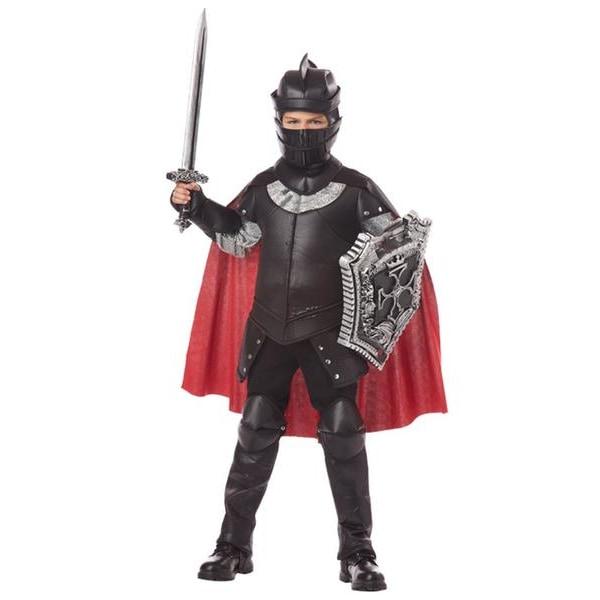 Svarte Riddare Barn Maskeraddräkt Black M
