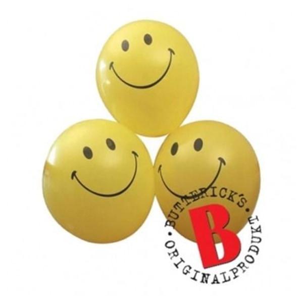 Ballonger Smiley (6pack)