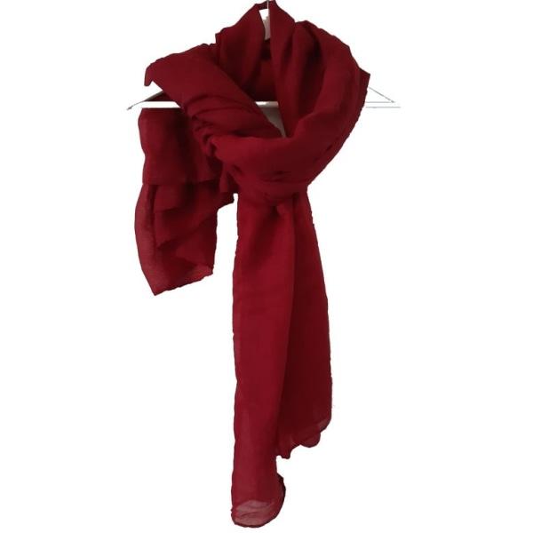 Röd scarf