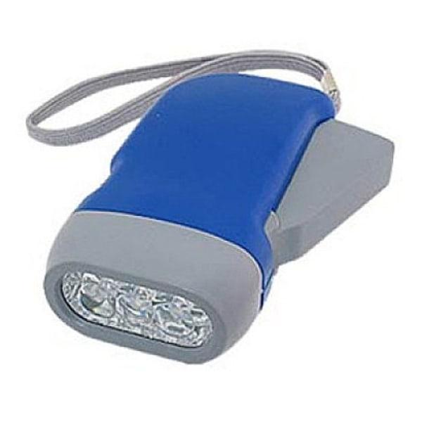Ficklampa med dynamo 2-pack