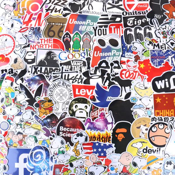 100st Graffiti Skateboard Klistermärken Bil Laptop Bagagetelefon Bo
