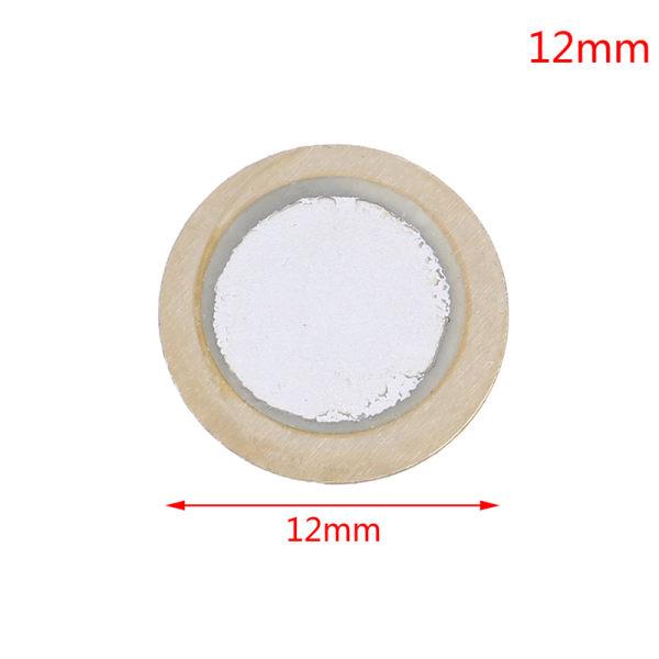 10st 12-50mm piezo-element ekolodsgivare pad rund avtryckare d