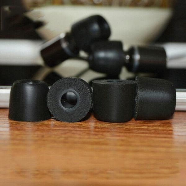 10st T200 Medium Memory Foam Ear Tip Noise Isolation In-Ear Ea