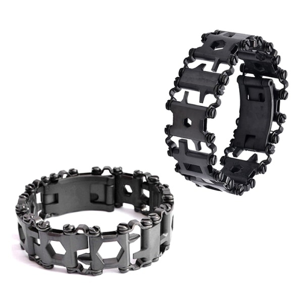 29 i 1 Multi Tool Armband Multifunktionsreparationsarmband Stai