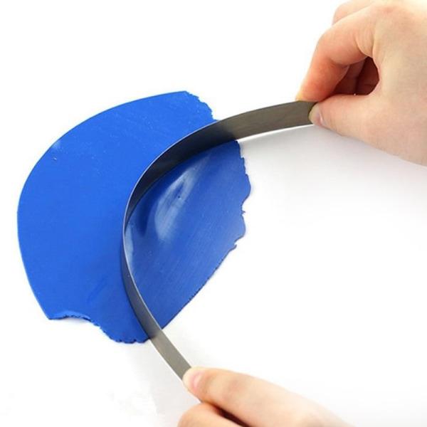 "2st 4 ""/ 8"" rostfritt stålknivar Blad Polymer Pottery Clay"