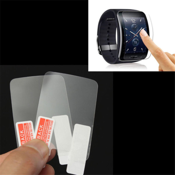 2PCS HD-skärmskydd Glasfilm för Galaxy Gear S r750 Smar