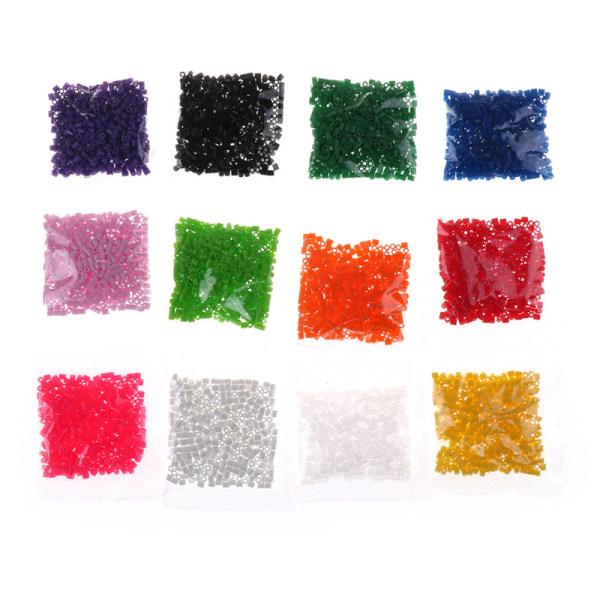 500st 2,6mm Mini Hama Pärlor Enpåse Perler Pärlor Barnleksaker Chr