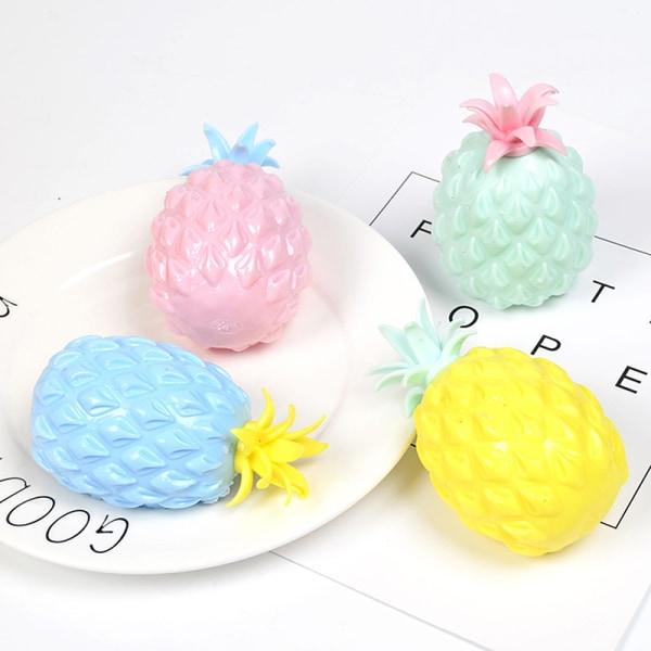 5st Pineapple Stress Grape Ball Roliga prylleksaker för barn