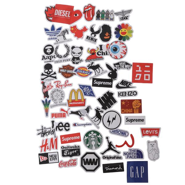 60st Personlighet Logo Stickers Gitarr Laptop Skateboard Luggag