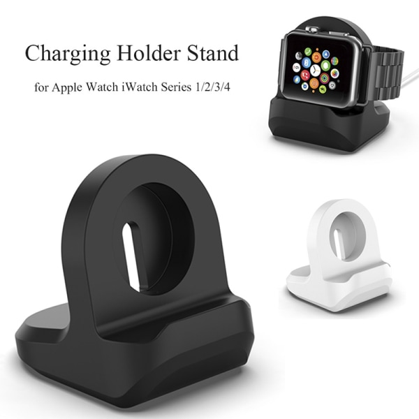 Charging Dock Stand Station Laddarhållare för Watch iWatch Ser