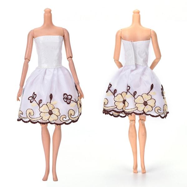 """Mode vackra handgjorda festkläder klänning för 9 """"Doll Mini"""