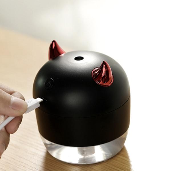 Mini luftfuktare USB luftdiffusor 200ML hemmakontor med natt L.