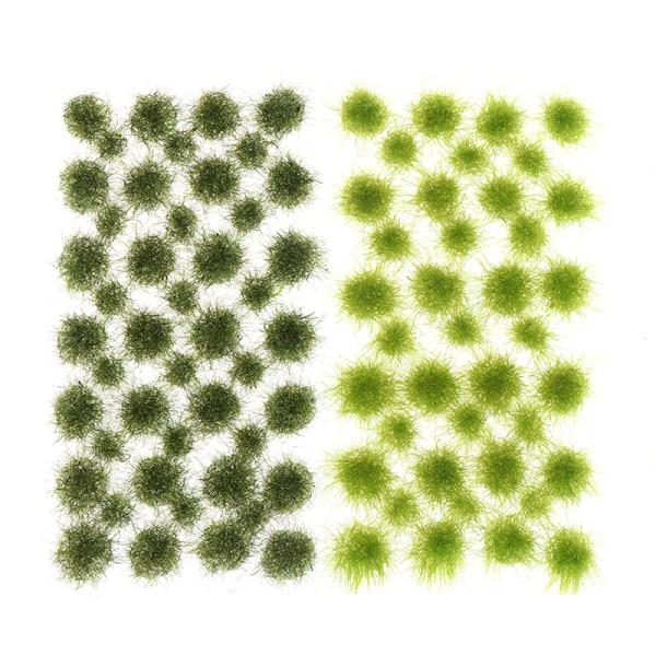 Modell Scen Terräng Simulering Oregelbunden vegetation Miniatyr L