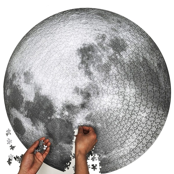 The Moon Earth Puzzle 1000 Pieces Puzzle Kids & Adult Planets M