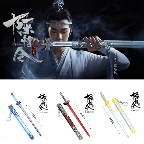 The Untamed Cosplay Props Sword Model Bi Chen Sui Bian Toy Ny