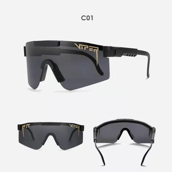 Unisex polariserade sport solglasögon C1