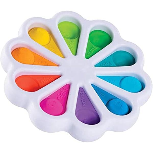 Flower Fidget Toys Sensory Simple Fidget Toy för barn vuxna
