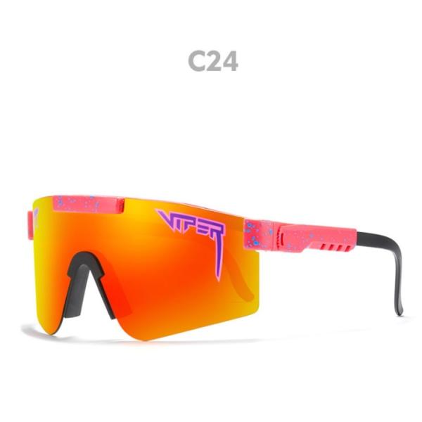 Unisex polariserade PitVipe sport solglasögon C24