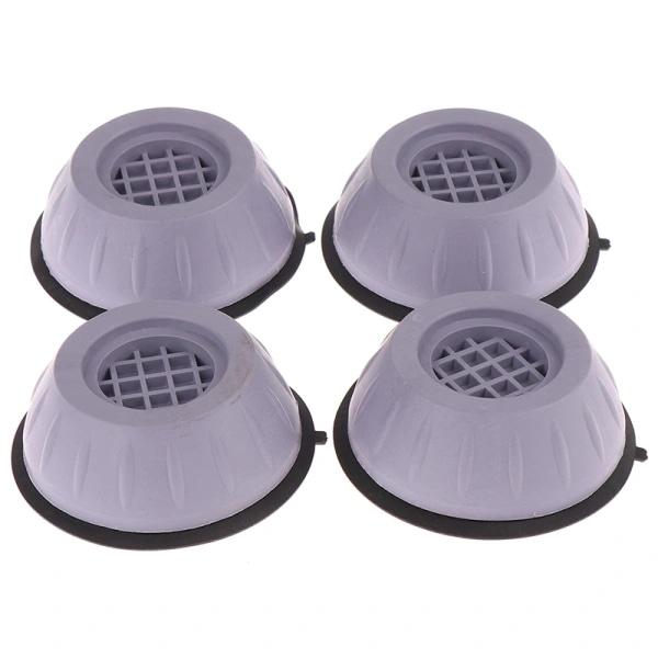 4st Universal Vibrationsdämpande Fotkuddar Tvättmaskin Gummi