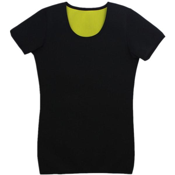 Mens Body Shaper Fitness Sports yoga T-shirt