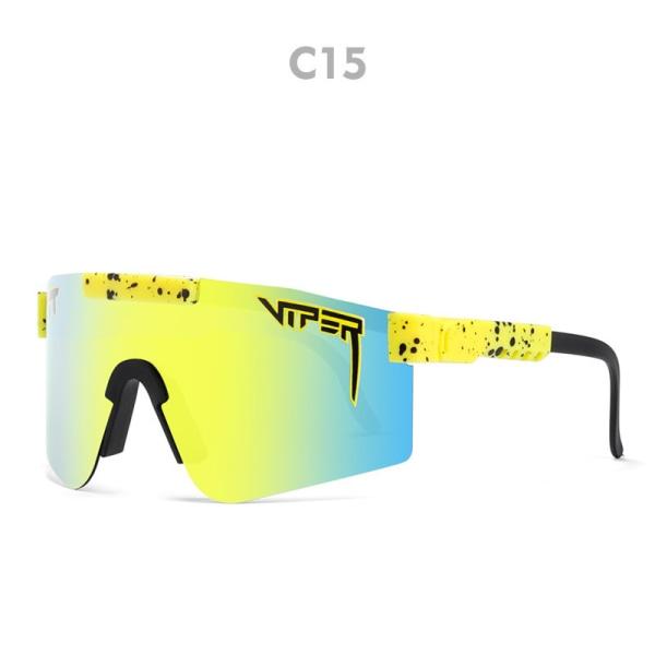 Unisex polariserade sport solglasögon C15