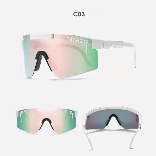 Unisex polariserade sport solglasögon C3