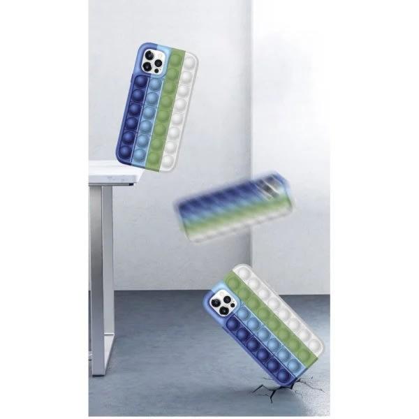 Pop it Fidget Skal för iPhone 11Pro - MultiColor