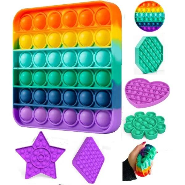 Pop It Fidget Toys - Bubble Toy
