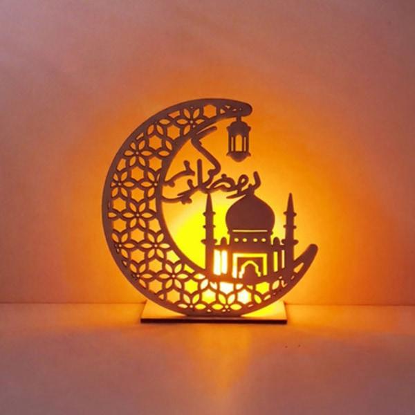 Ramadan Eid Mubarak dekoration LED-ljus