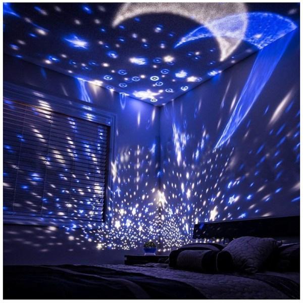 Roterande Starry Sky-projektor