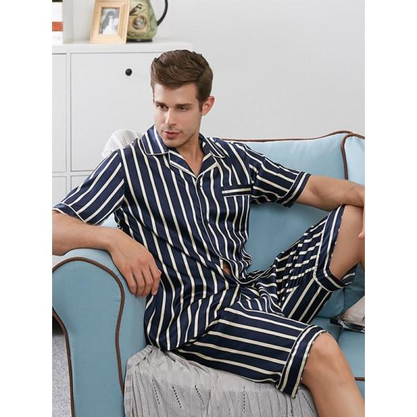 Kvinnor Mäns shorts pyjamas set par nattkläder