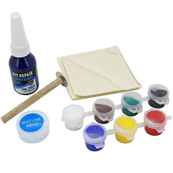 Läder och Vinyl reparations kit