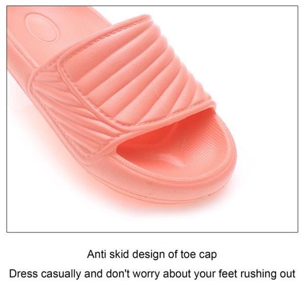 Sandaler för pojkar Tofflor Badning Halkfritt ljus och förtjockning Red 34-35