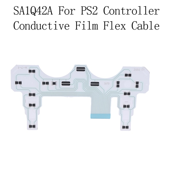 1Pc SA1Q42A för PS2-styrenhet ledande filmband knappsats fl