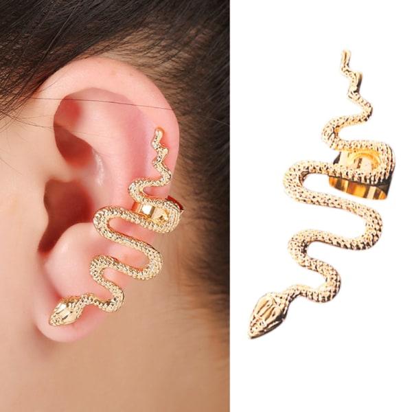 1PC Vintage Punk Alloy Snake Earring Animal Ear Stud Statement
