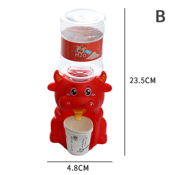 Mini vattendispenser Barn barnleksak och vattendrink Fountai B