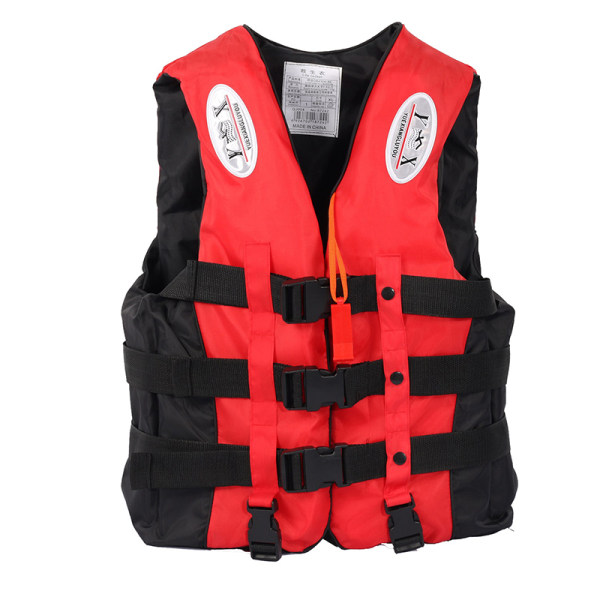 Universal Utomhusbåtar Skidväst Survival Suit Polyester L Red XXL