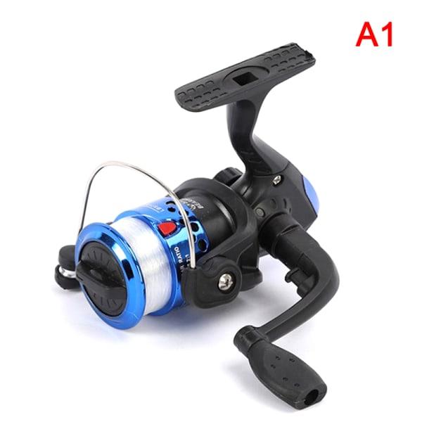 Fiske Reals Body Spinning Reel höghastighets G-förhållande 5. Blue