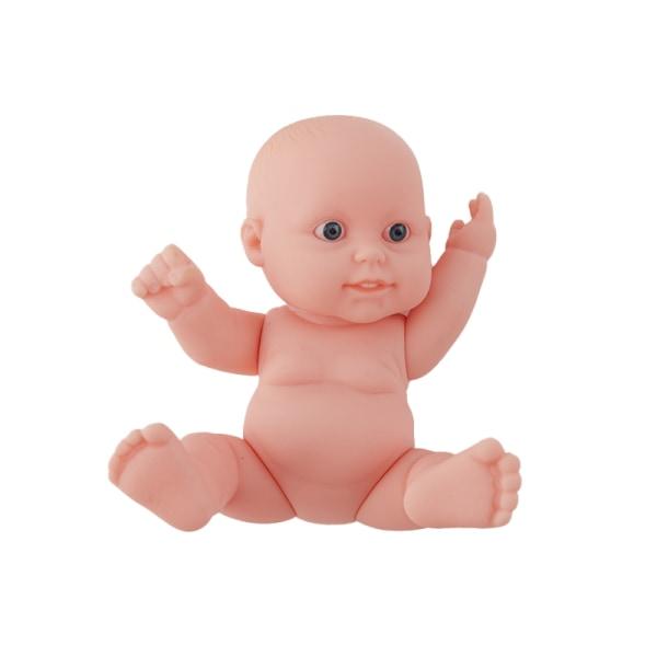 12 cm realistisk babydocka vinyl nyfödd spädbarnsimuleringsmodell One Size