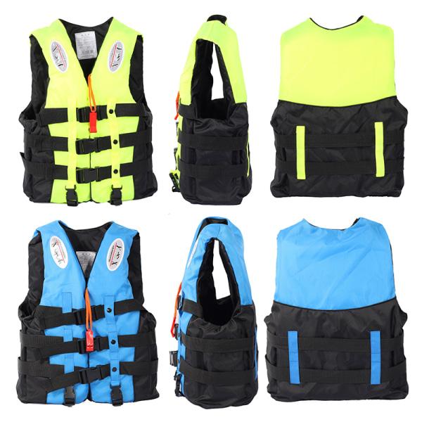 Universal Utomhusbåtar Skidväst Survival Suit Polyester L Fluorescent green M