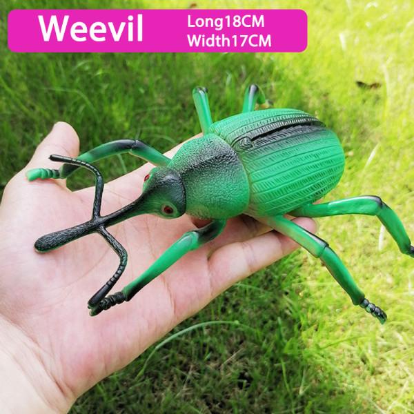 Simulering Djurliv Modell Prydnad Realistisk Insekt Figur Chil A7