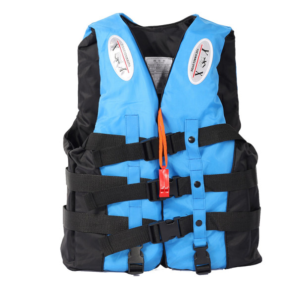 Universal Utomhusbåtar Skidväst Survival Suit Polyester L Blue 3XL