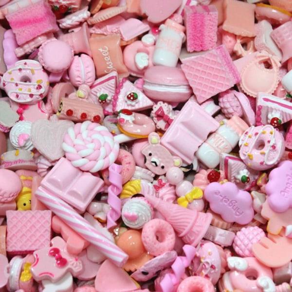 10st Söt Mini Candy Donut Bread Dollhouse Miniature Cake Hom P10