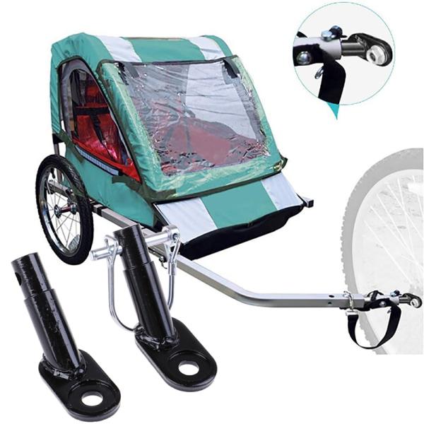 Cykelvagn Cykelkoppling Vinklad armbågsfäste för