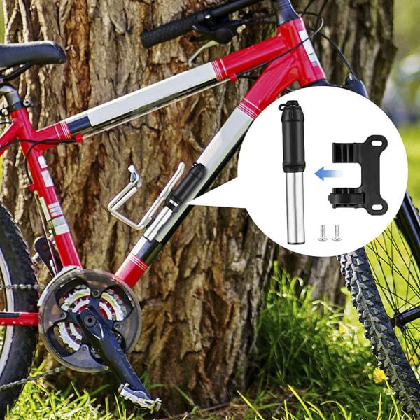 Cykelpump Aluminiumlegering Bärbar Pump Mountainbike Däck In Silver
