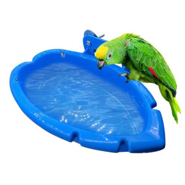 fågelbadkar skål handfat papegojabur hängande badlåda fågel b One Size