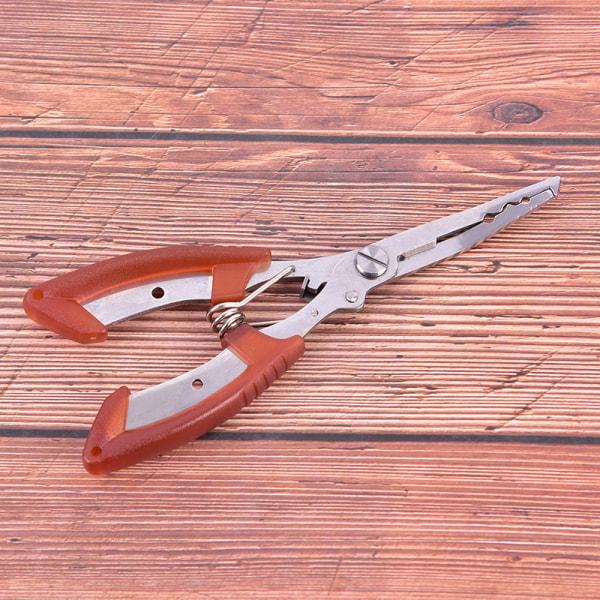 Orange fisketång Rostfritt stål kroksaxlinje Ta bort F