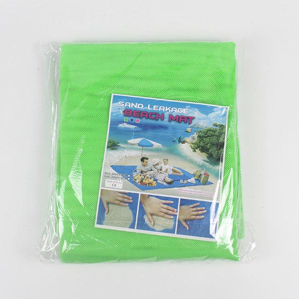sandfri strandmatta camping utomhus picknick stor madrass vatten