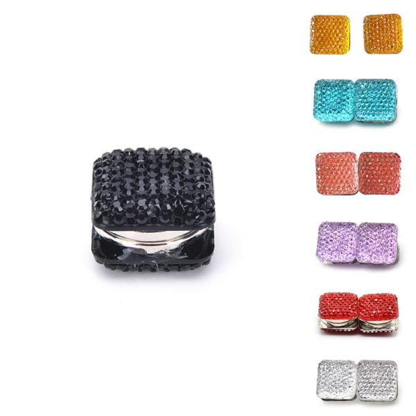 Fyrkantig magnetisk hijab-stift sjal Magnet Scarf Pin Headscarf Abay
