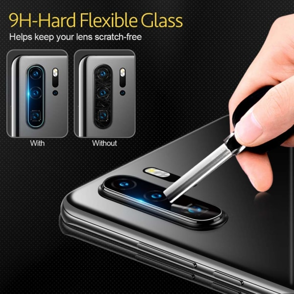 2-Pack Huawei P30 Pro Kamera Härdat Glas Skärmskydd